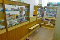 Аптечный киоск в Саранпауле.