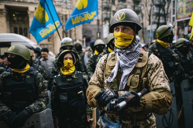 Революционеры в феврале 2014-го рвались в Европу. Цена «рывка» оказалась слишком дорогой.