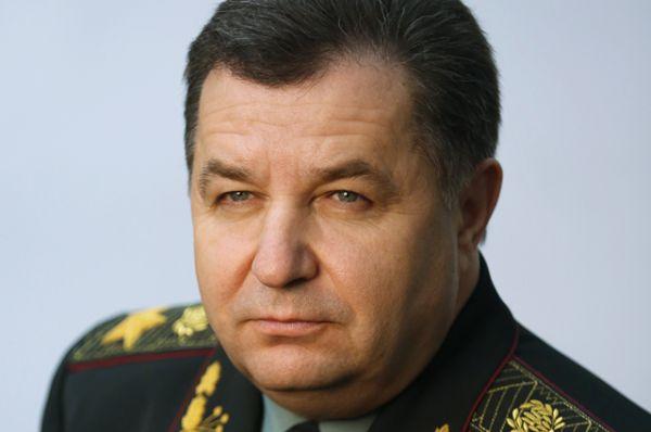 Министр обороны Степан Полторак, президентская квота.