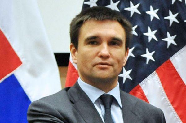 Министр иностранных дел Павел Климкин, президентская квота.