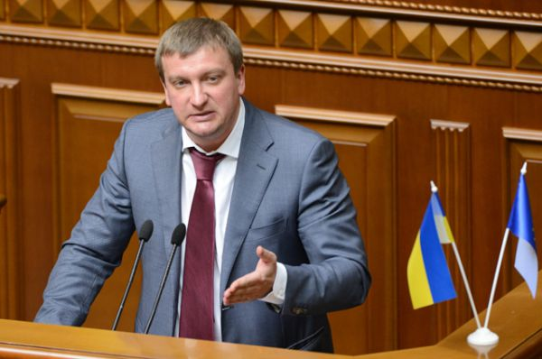 Министр юстиции Павел Петренко, парламентская квота.