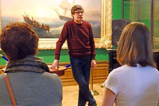 Лекция в Приморской государственной картинной галерее.