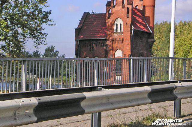 Мост Высокий в Калининграде.