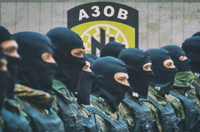 Бойцы полка «Азов»