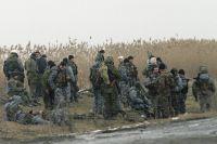 Российские военные в районе села Первомайское, 1996 г.