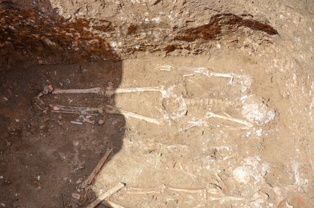 Археологические находки на месте строительства