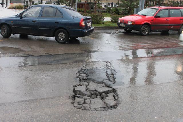 Ростовские дороги - одни из худших в стране.