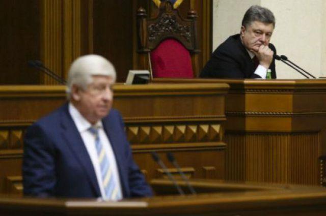 Президент встретился с Шокиным и получил от него заявление об отставке