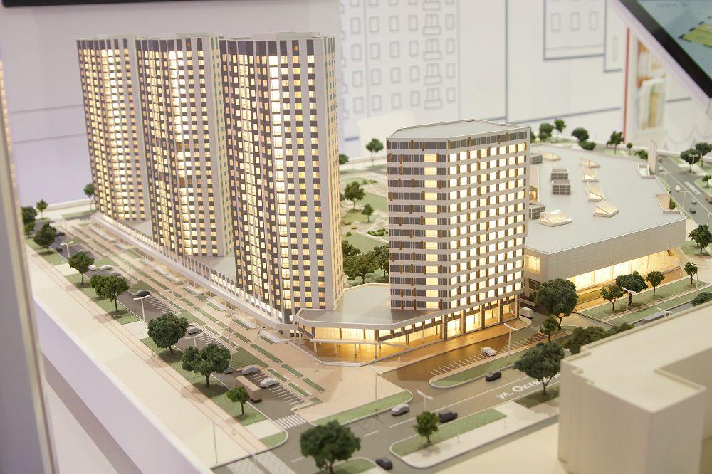 Планы красноярский строителей в виде макета