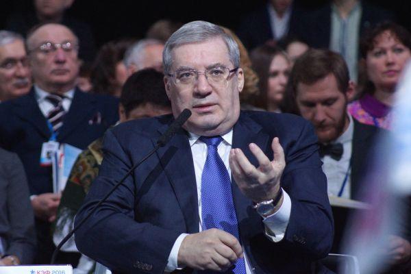 Губернатор региона Виктор Толоконский.
