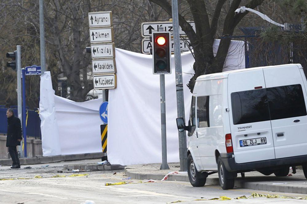 В Турции введены ограничения на освещение теракта в Анкаре в СМИ.