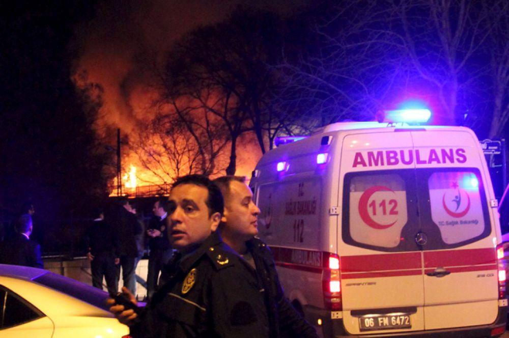 Звук взрыва, по словам очевидцев, был слышен во многих районах города.