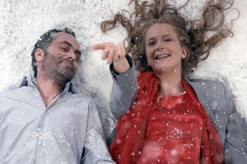 Заставка к конкурсу – кадр из кинофильма «Любовь есть».