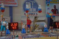 Алина на Первенстве России по гиревому спорту среди юношей и девушек.