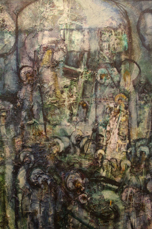 Храм (холст, масло)