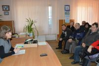 Более 20 старших по домам присутствовали на встрече.