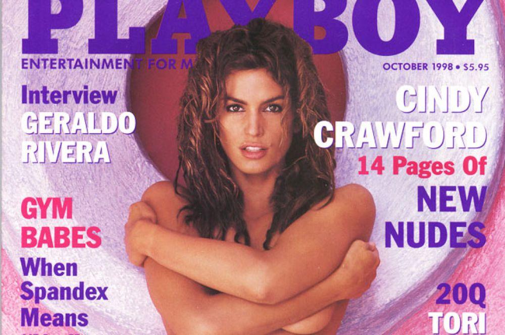 Кроуфорд стала первой супермоделью, позировавшей обнажённой для журнала Playboy, фотографии делал знаменитый Герб Ритц.