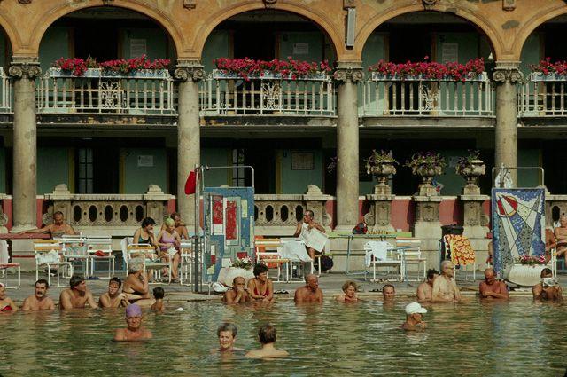 Лечебная купальня Сечени, Венгрия.