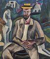 «Портрет художника Рождественского». 1912