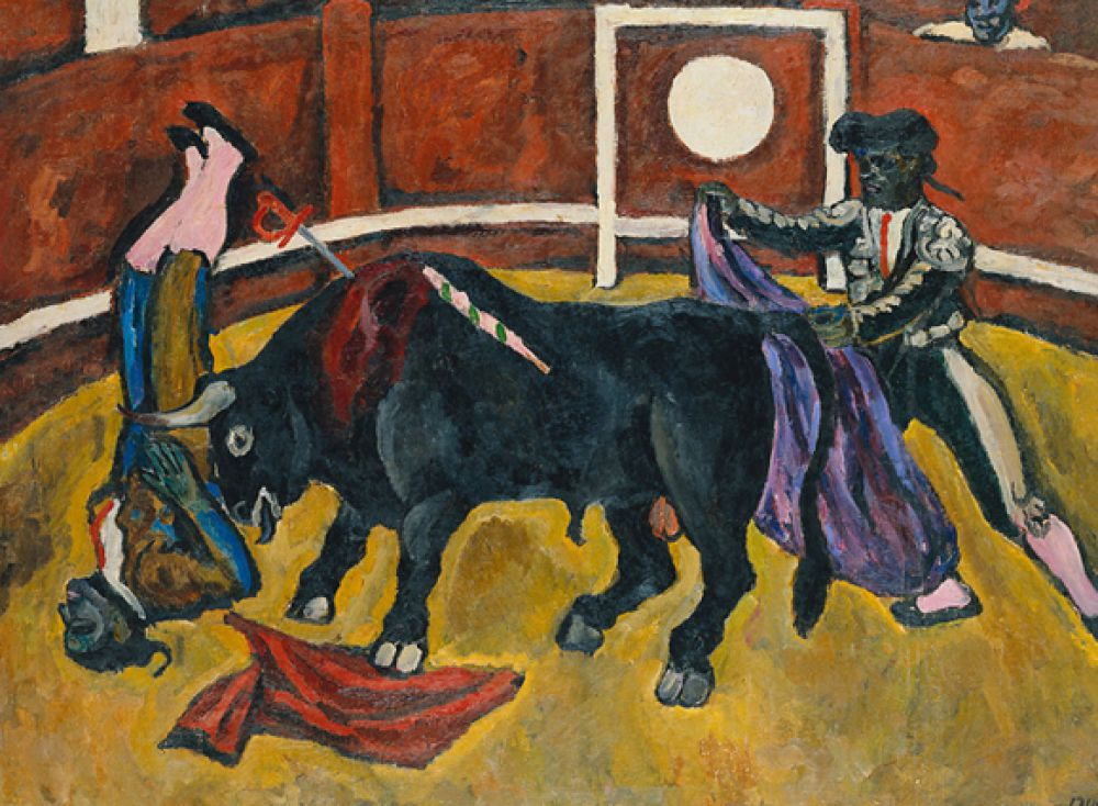 Расцвет его творчества пришёлся на начало ХХ века, когда художественные традиции стремительно менялись и пересматривались. «Бой быков». 1910