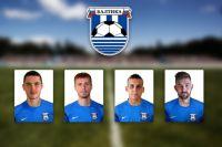 Калининградская «Балтика» заявила четырех новых футболистов.