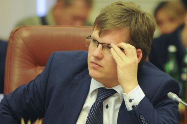 Глава Минсоцполитики Павел Розенко