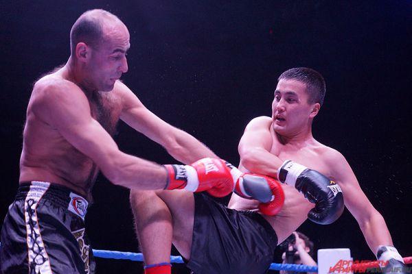 Бои по кикбоксингу, боксу и таффайт «Россия VS Кыргызстан» с размахом прошли в минувшую пятницу, 19 февраля, в Перми.