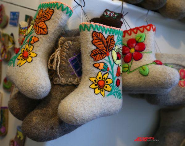 Южноуральцы заботятся о здоровье детей, поэтому спрос на валенки небольших размеров постоянно растет