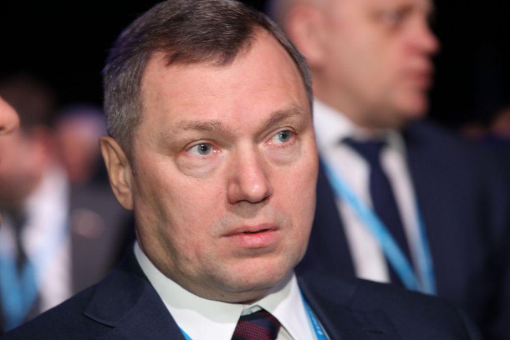 Последний губернатор Таймыра Олег Бударгин чем-то удивлен.