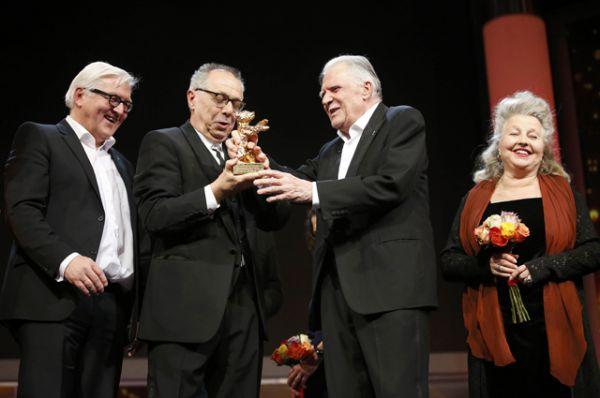 Почетный «Золотой медведь» – Михаэль Баулльхаус.