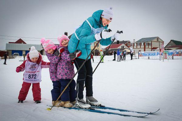 Лыжи - семейный вид спорта!