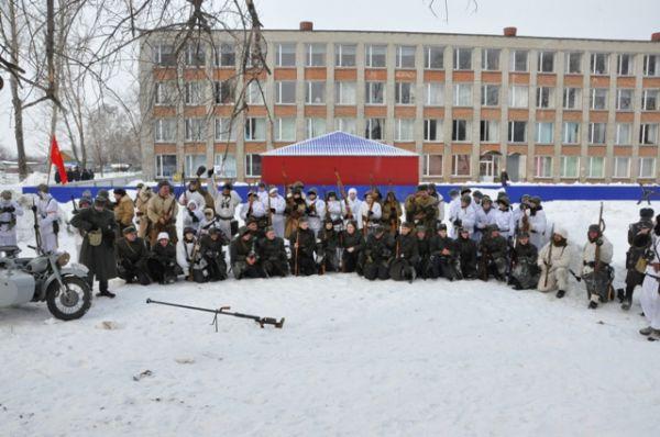 В «Зарнице» приняли участие более 70 человек