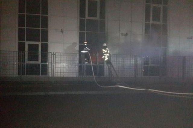 Во Львове ночью горело отделение «ВТБ»