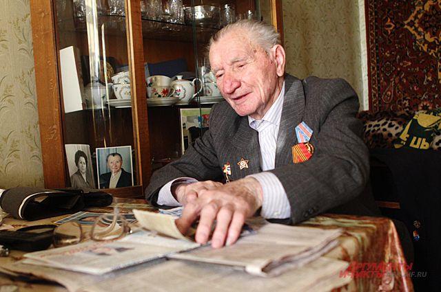 Леонид Бортников помнит все события, которые пережил в Великой отечественной войне.