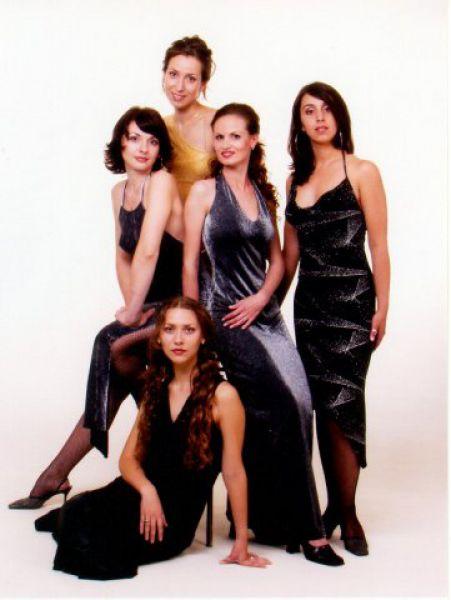 Джамала в составе Beauty Band 2001 год