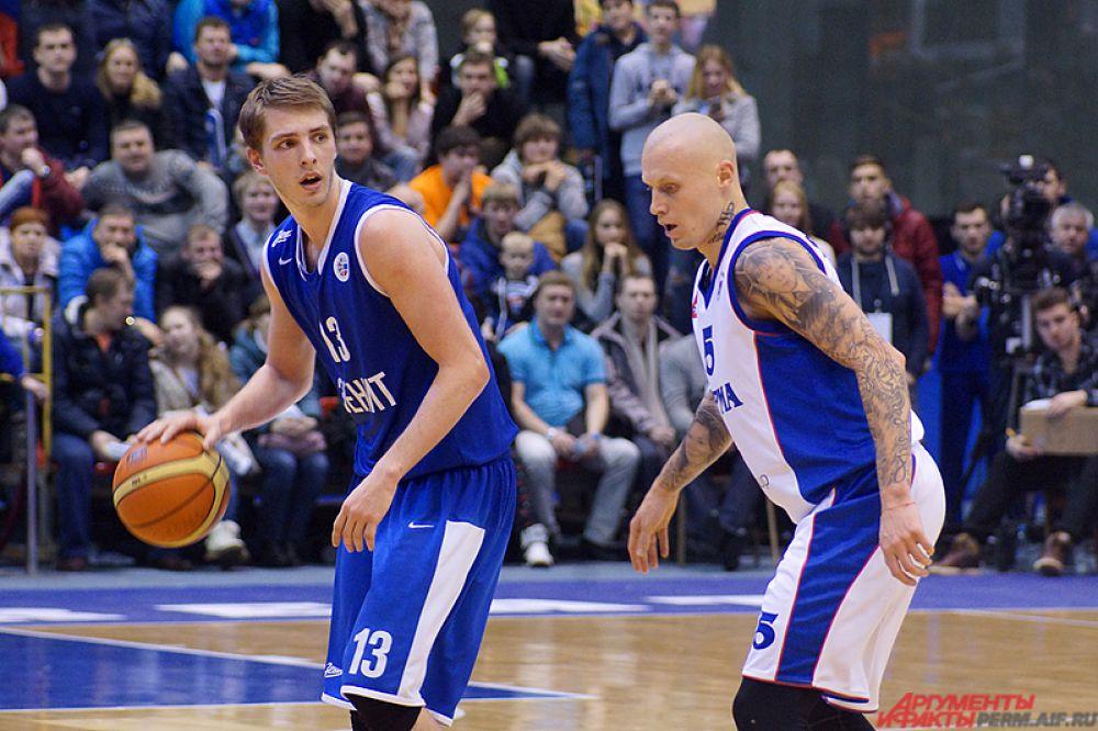 В напряжённой схватке наши баскетболисты оказались лучшими и завоевали победу - счёт встречи 97:65.