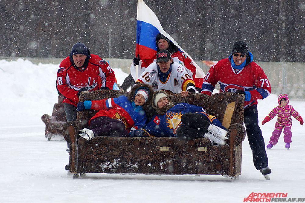 В итоге главный приз соревнований взяла команда под названием «Сочи».