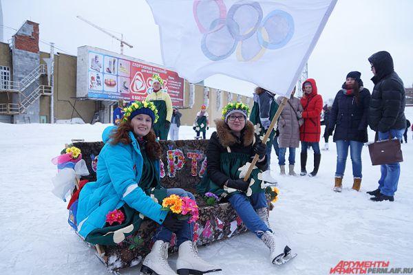 Впервые в России прошли забеги «диванных войск».