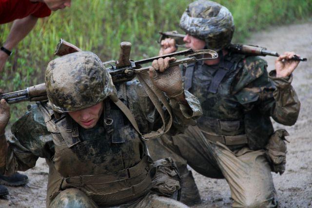 Служба в спецназе - тяжёлая и опасная работа.