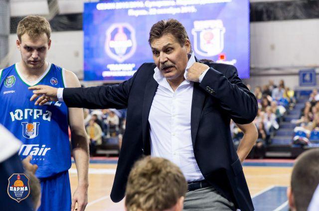 Сергей Ольхов, главный тренер БК