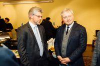 Посол Украины в ФРГ Андрей Мельник и Игорь Янковский