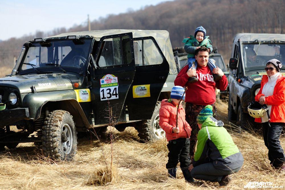 1 место в категории ТР1У – экипаж № 134, Цалюк Михаил и Небыков Роман, Динская, УАЗ Кубань4х4.
