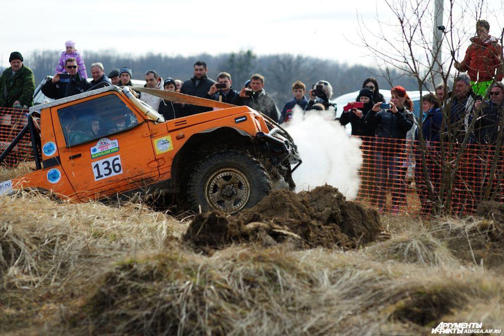 2 место в категории ТР1У – экипаж № 136, Шалесный Евгений и Побрус Валерий, Краснодар, Сузуки Самурай.
