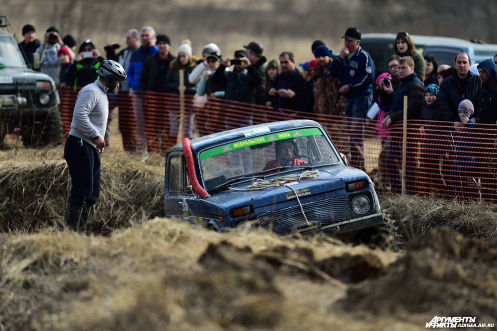 1 место в категории ТР1Н – экипаж № 135, Алиев Аслан и Чеккуев Марат, Карачаевск, ВАЗ 2121.