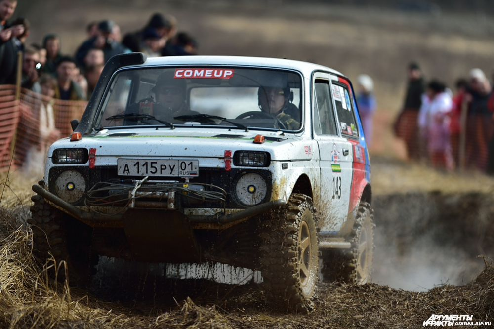 3 место в категории ТР1Н – экипаж № 143, Кущев Александр и Шумафов Руслан, Майкоп, ВАЗ 2121.
