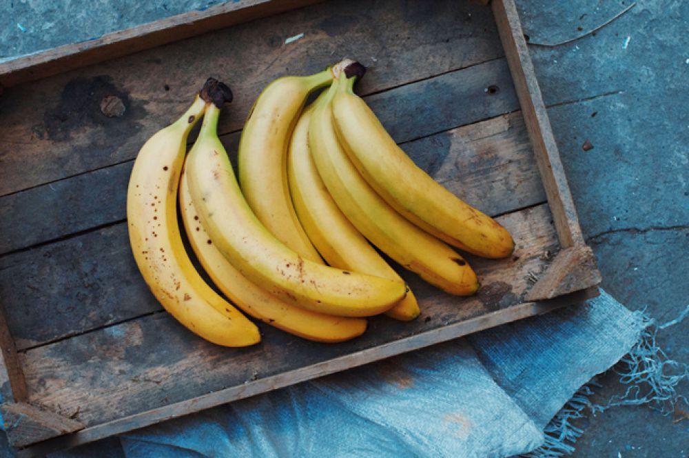 Банан содержит изотопы калия-40 и углерода-14.