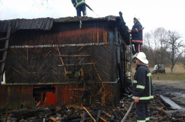 При пожаре в Ровенской области погибли три ребенка