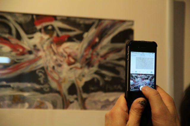На выставке А. Соколова «Предчувствие весны». Ульяновск, 18.02.2016