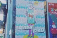 Ночной клуб в Калининграде разместил рекламу с Борисом Ельциным в платье.