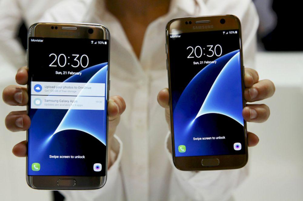 Samsung представил два новых смартфона Galaxy S7 и Galaxy S7 Edge.